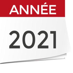 Calendrier des épreuves 2021