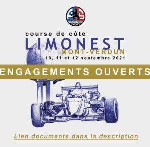 Règlement et engagement Course de côte de Limonest 2021